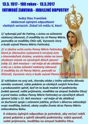 2017-05-13 Fatimská storočnica - Odpustky_Clanok.jpg -