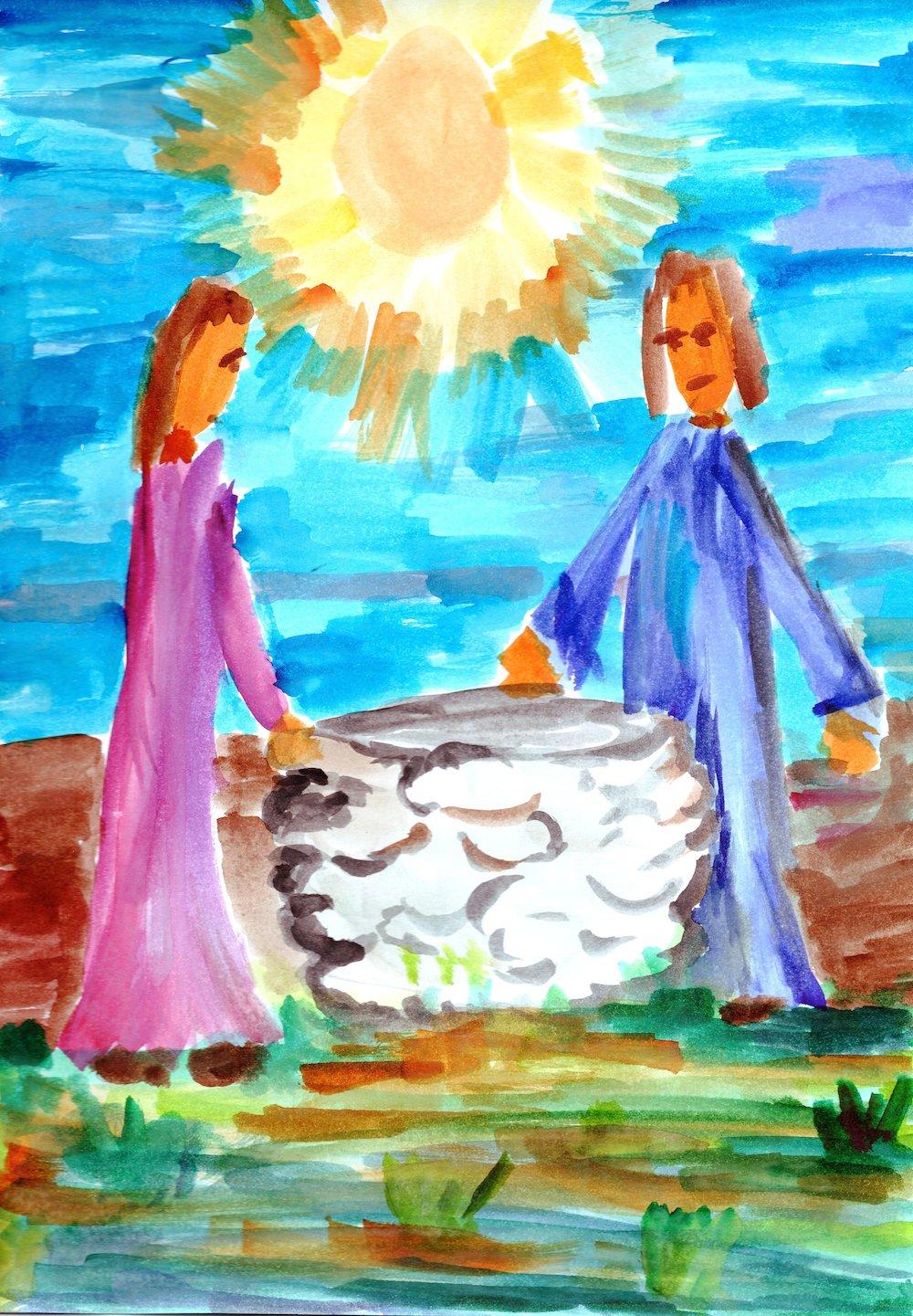 Výsledok vyhľadávania obrázkov pre dopyt samaritánka pri studni